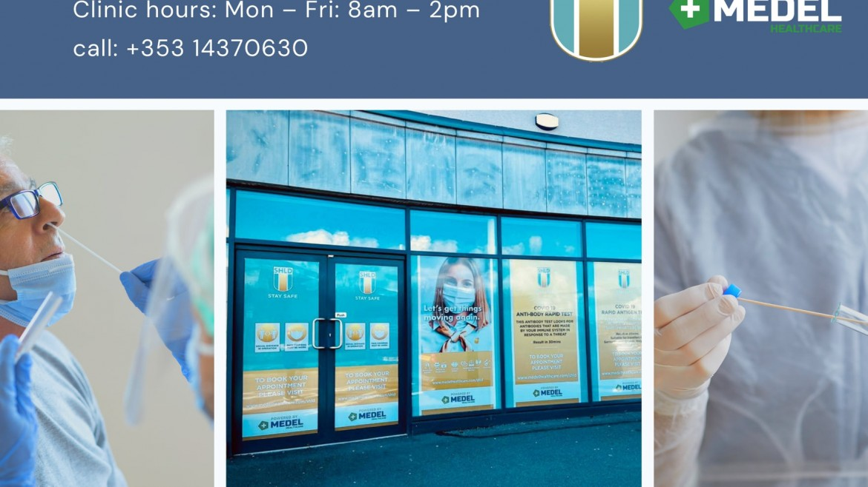Medel Healthcare power new Covid Testing Clinic in Letterkenny